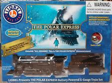 "Genuine Lionel ""Polar Express"" Battery Powered, Ready-to-Run, G-Gauge, Train Set"