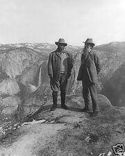 1906-President Theodore Roosevelt & John Muir Founder Sierra Club, Yosemite