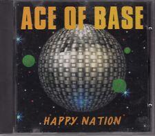 CD ALBUM ACE OF BASE / HAPPY NATION