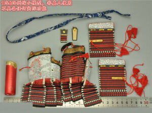 1/6 COOMODEL SE060 Red Ghost Of Mount Kurama Armor Pauldrons Lace Clothes Props