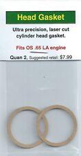 OS .65 LA Cylinder Head Gasket 2 Pack NIP