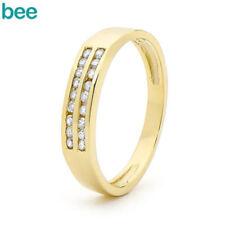 Eternity Yellow Gold Fine Diamond Rings