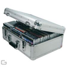 Cajas, bastidores y bolsas de plata de aluminio para equipos de DJ y espectáculos