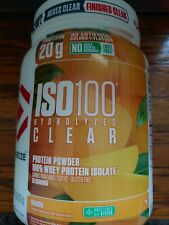 ISO100 Hydrolyzed 100% Whey Protein Isolate - Mango 1.1 Lbs 20 servs