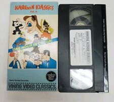 Kartoon Klassics Vol 9 VHS RARE OOP Cult Animation Cartoons 30's 40's