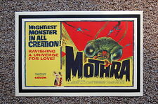 Mothra Lobby Card Movie Poster The Mightiest Monster in all Creation___