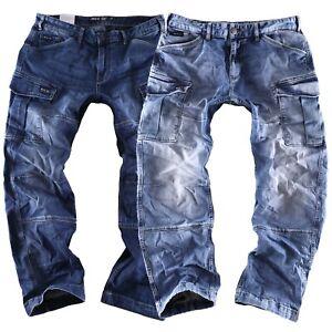 Big Seven Brian comfort fit Herren Cargo Jeans Hose Übergröße XXL