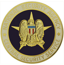 Vanguard ARMY IDENTIFICATION BADGE: NATIONAL SECURITY AGENCY CENTRAL SECURITY SE