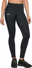 Under Armour ColdGear Storm Womens Long Running Tights - Black