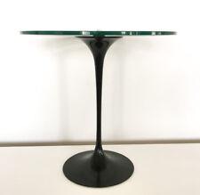 KNOLL International +++ Eero Saarinen +++ schwarz + runder Beistelltisch