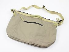 Nike Women's NSW Holdall Tote Messanger Laptop Bag Khaki New