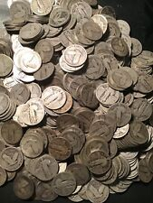 1 FULL ROLL STANDING LIBERTY QUARTERS 40 COINS $10 1925-1930 READABLE DATES
