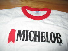 Vintage RINGER My Shirt is Made in the USA Budweiser MICHELOB (Youth XL) T-Shirt