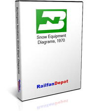 Burlington Northern Snow Equipment Diagrams - PDF on CD - RailfanDepot