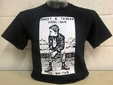The Smiths- Sweet & Tender Hooligan Black T-shirt