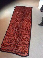Just Cavalli silk leopard print scarf
