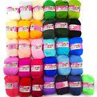 31Colors Soft Bamboo Crochet Cotton 50g Knitting Yarn Baby Knit Ball of yarn