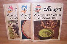 Vintage Disney's Wonderful World of Knowledge (Hardcover Children's Books)