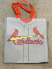 Reusable Tote Shopping Bag St. Louis Cardinals Gray Jersey New