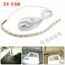 US Sewing Machine Light Bright Strip LED Light W/ Touch Dimmer USB Power Supply