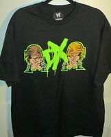 WWE D-Generation X Cartoon Mooning Graphic Men's Black Shirt XL DX HBK HHH