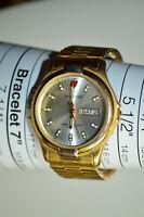 Waltham Quartz Day / Date Men's Wristwatch with Stretch Band WME 20