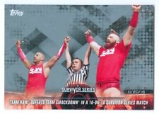 """SHEAMUS & CESARO """"SILVER PARALLEL CARD #7 /25"""" TOPPS ROAD TO WRESTLEMANIA 2018"""