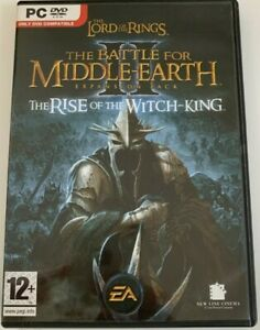 LOTR BATTLE FOR MIDDLE EARTH 2 RISE OF THE WITCH-KING PC V.G.C. EXPANSION PK