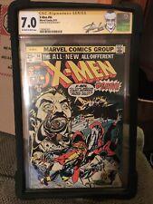 X-Men 94 CGC SS Stan Lee 7.0
