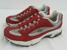 WOMEN'S RED SKETCHERS TRAINERS, UK SIZE 5 / EU 38                         #NSDC#