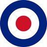 British RAF Roundel (Type D ) Exterior Vinyl Model Military Plane Aircraft Decal