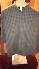 Timberland Weather Gear Mens Long Sleeve Button Up Shirt XXL 100% Cotton