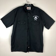 Army Of Darkness Evil Dead Dickies Shop Work Shirt Size Large