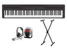 Yamaha P-45 Digitalpiano Bundle V mit X-Ständer und Kopfhörer