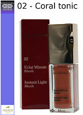 CLARINS ECLAT MINUTE BLUSH 02 CORAL TONIC - INSTANT LIGHT BLUSH