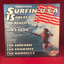 VARIOUS Surfin' USA 1970s UK Vinyl LP EXCELLENT CONDITION Jan Dean Beach Boys