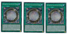 3 x dunkler magique cercle mp17-de100,secret rare,1 ère Edition,Allemand,PLAYSET