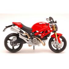 DUCATI MONSTER 696 RED 1:12 Maisto Moto Die Cast Modellino