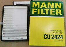 MANN-FILTER CU2424 Innenraumluftfilter für Renault Megane I - Pollenfilter