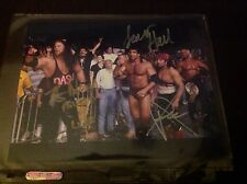 Nwo Wolfpack Kevin Nash And Scott Hall and X PAC  Autographed 8x10  WWE WWF