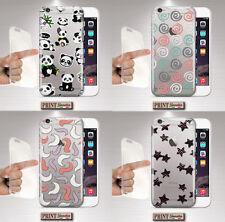 Cubierta para,Iphone,TRANSPARENTE,silicone,suave,fantasía,colores,funda,caucho,