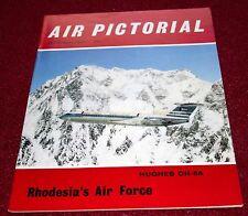 Air Pictorial 1965 December Rhodesian Air Force,Sea Vixen,Hughes O-6A,RAF 23 Sqn