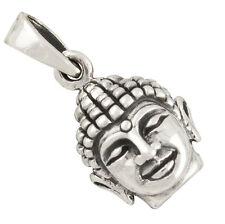 Buddha Anhänger Silber 925 Buddhismus Schmuck b580