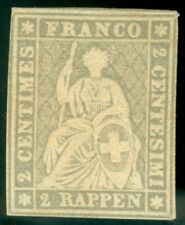 SWITZERLAND   2  RP STRUBEL  23G  MINT NEVER HINGED