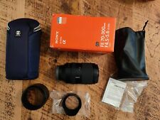 Sony FE 70-300mm f/4.5-5.6 G OSS Lens E-Mount SEL70300G (Mint Condition)