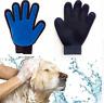 Pet Grooming Glove Dog Cat Dirt Hair Fur Removal Remover Brush Gentle Deshedding