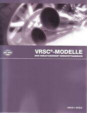 HARLEY Werkstatthandbuch 2006 VRSC V-Rod VROD DEUTSCH 99501-06GA Anleitung Buch
