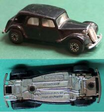 VINTAGE CITROEN 15 CV MATCHBOX TOY CAR , MADE IN ENGLAND, 1983