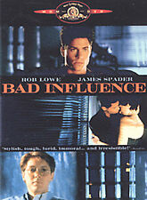 Bad Influence (DVD, 2002, Widescreen and Pan & Scan)b240
