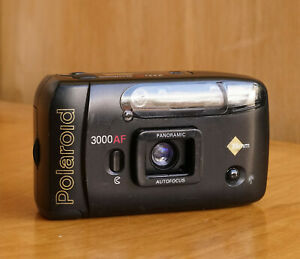 Polaroid 3000AF Point & Shoot 35mm Film Camera Panorama Function Working